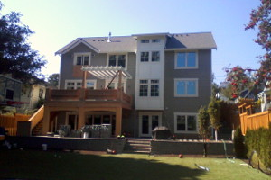 Custom Home Rear