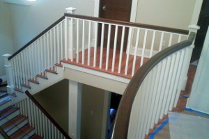 Custom Home Stairs